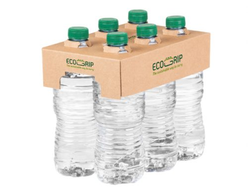 Hinojosa lanza Ecogrip, la alternativa sostenible en cartón para los packs de botellas